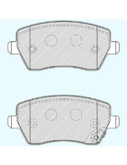 Ferodo Premier FDB4069 Τακάκια Δισκόφρενων