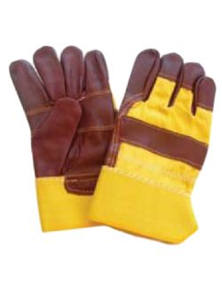 Γάντια Εργασίας Δερματοπάνινα Polis