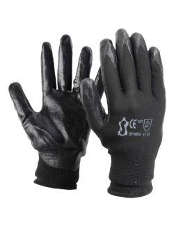 Γάντια Εργασίας Nitrile Γκρι