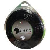 Adler Pro Round Balck 3,0mm 56m Μεσινέζα