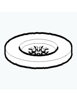 Emak 4179088R Ροδέλα Δίσκου Καρέ