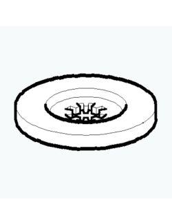 Emak 4179089R Ροδέλα Δίσκου Καρέ