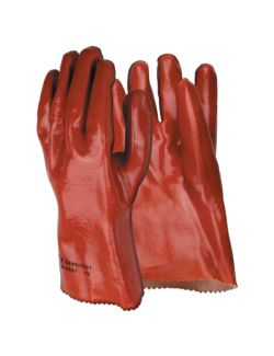 Γάντια Εργασίας PVC Πετρελαίου 27cm